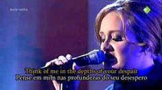 Adele - Rolling in  the deep - Legendado