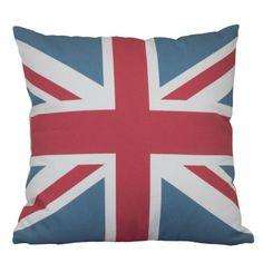 Capa almofada Bandeira Inglaterra - Exclusiva