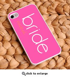 Custom Bride iPhone Cover!  What bride wouldn't love this?!?!