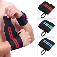TOBWOLF Lifting Wrist Wraps, Professional Men Weightlifting Strap with Thumb Loop, Adjustable Carpal Tunnel Wrist Support Braces for Gym, Workout, Powerlifting 2 Pairs ** You can find out more details at the link of the image. (This is an affiliate link) Powerlifting, Weightlifting, Wrist Brace, Yoga Strap, Hand Wrist, Carpal Tunnel, Types Of Yoga, Braces, Pairs
