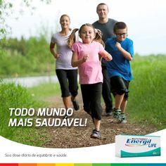 Sua família toda por uma vida mais saudável com #EnergilLife.