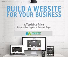 Build a website for your Business... Maaz Software Solutions More info: maazsofts@gmail.com | visit: www.maazads.com #onlinemarketing #Digitalmarketing #Marketing #Business #promoteyourbusiness #promoting #socialmediamarketing #SEO #searchenginemarketing #Maazsoftwaresolutions #softwarecompany Online Marketing, Social Media Marketing, Digital Marketing, Responsive Layout, Search Engine Marketing, Building A Website, Promote Your Business, Hyderabad, Seo