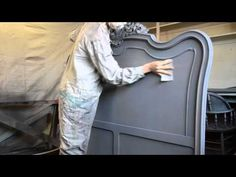 How to paint with lacquer. There are tons of great video tutorials on painting, staining, and repairing furniture.