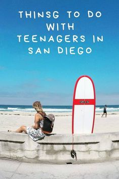 Are you looking for amazing things to do in San Diego with teens? Here are all the best places to keep teenagers happy during your San Diego trip Old Town San Diego, San Diego Beach, San Diego Zoo, San Diego Vacation, San Diego Travel, Fort Lauderdale, Travel With Kids, Family Travel, Group Travel