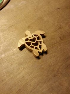 Scroll saw turtle