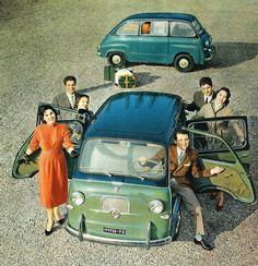 Fiat 600, 1956