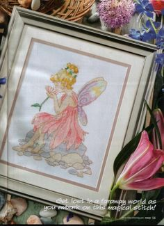 Fairy Magic Cross Stitch Crazy Issue 142 October 2010  Hardcopy