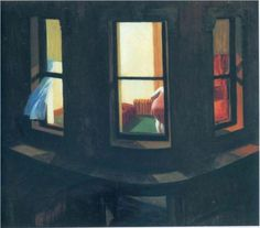 Night-Windows - Edward Hopper