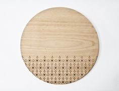 Iroko Cutting Board For The Kitchen In Laser Cut With Shapes From The  Cyprus Traditional Art