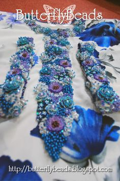Butterfly Beads - Sulaman Manik dan Labuci, Kelas Jahitan Sulaman Manik: Kelas Jahitan Manik Shimmering Flora - 17 Julai 2011 (Shah Alam)