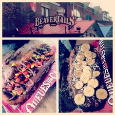 His and Hers BeaverTails pastries :)Photo by justinekaesler