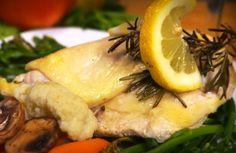 Pollo al limone - Microonde -SECONDI DI CARNE - POLLO