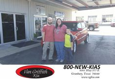 https://flic.kr/p/yfU2E7 | Congratulations BJ & Kristin on your #Kia #Soul from Chad McGinnis at Van Griffith Kia! | deliverymaxx.com/DealerReviews.aspx?DealerCode=PXVJ