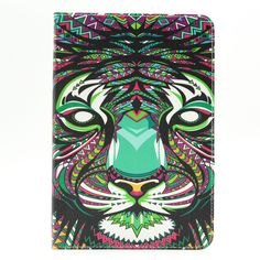 iPad Mini 4 Case, StrangeNose (TM) Stylish Art Printed Flip PU leather stand protective case ,New Style Colorful Premium PU leather folio case for iPad Mini 4 . (P-22) -- This is an Amazon Affiliate link. You can find more details by visiting the image link.