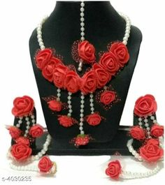 Checkout this latest Jewellery Set Product Name: *Stylish Women's Jewellery Set* Base Metal: Fabric Stone Type: Pearls Type: Full Bridal Set Multipack: 1 Easy Returns Available In Case Of Any Issue   Catalog Rating: ★4 (345)  Catalog Name: Stylish Women's Jewellery Sets Vol 3 CatalogID_570901 C77-SC1093 Code: 932-4030235-435