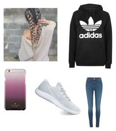 """""""Untitled #2"""" by mburnside on Polyvore featuring Topshop, NIKE, Kate Spade and River Island"""