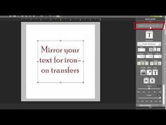 MDS 2: Mirror Text