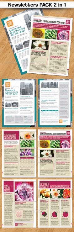 Best Newsletter Design Images On Pinterest Newsletter Design - Good newsletter templates