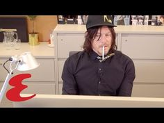Norman Reedus | The Esquire Intern - YouTube