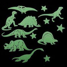 Fluorescent Stickers are glow in the dark wall stickers. and watch Animal Fluorescent Stickers glow. Kids love animals, such Glow In The Dark Stickers. 10 pcs glow in the dark stickers. Wall Stickers Cartoon, Cheap Wall Stickers, Butterfly Wall Stickers, Wall Stickers Murals, Star Stickers, Wall Decals, Glow, Dinosaur Pattern, Dark Star