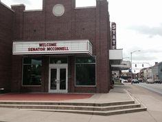 .@SenateMajLdr McConnell visiting Hardin County, #Kentucky today.