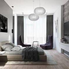 Recámaras de estilo minimalista por Tatiana Zaitseva Design Studio
