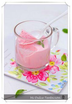 Mi dulce tentación: Espuma de Fresas