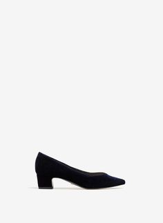Uterqüe Portugal Product Page - Calçado - Sapatos tacão - Sapato de salão veludo - 79
