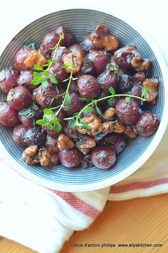 ~grape walnut compote~