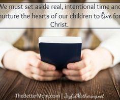 The Better Mom - Inspiring Moms to Build God-honoring Homes