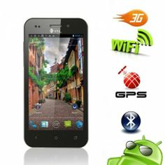 """4.0"""" Dual SIM Unlocked Black Phone  Are you stumped as to which cell phone is the best for you? Here's a great Android that can fit your needs. It features durable electronic components, advanced technology, high-definition screen (for great visual experience), and a tactile keypad for convenient, lengthy"""