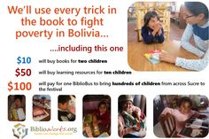 BiblioWorks believes that healthy communities require healthy minds, and so does Biblio.com! That's why we founded Biblio Charitable Works in 2005 and have been helping to support BiblioWorks in their building of libraries, supplying books and training librarians in the poorest communities of Bolivia ever since. As a 501(c)(3) non-profit, they also need support from donors like you. To date, 12 libraries have been built in rural Bolivia. BiblioWorks trains librarians to run the libraries…