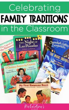 While celebrating Christmas and holidays around the world, try to bring in celebrating families and family traditions to include all students. Check o. Family Traditions, Holiday Traditions, First Grade, Grade 1, Kindergarten Social Studies, Celebration Around The World, Holidays Around The World, Kwanzaa, Celebrating Christmas