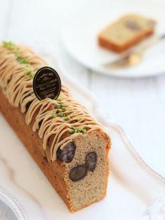 栗と珈琲のパウンドケーキ by *misa* | cotta Sweets Recipes, Cake Recipes, Cooking Recipes, Loaf Cake, Pound Cake, Baking And Pastry, Chocolate Desserts, Cake Cookies, Bakery