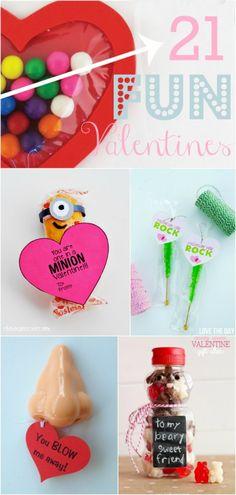 21 fun Valentines |via @Lolly Jane {lollyjane.com}: