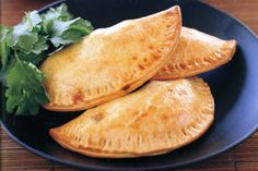 Indian lamb samosas