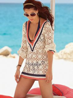 Adorable cover-up! Great swimwear website, just too bad it's no longer available!