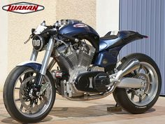 Wakan 1640 :: French V-Twin Motorcycle