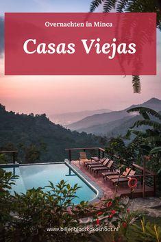 """Ze noemen dit een hostel, maar dit is een paleis"""", met deze zin werden we verwelkomt door een andere gast van Casas Viejas in Minca en eigenlijk kunnen we hem alleen maar gelijk geven. Casas Viejas is een geweldig hostel midden in de bergen van de Sierra Nevada. Overal waar je kijkt zie je de prachtige natuur van dit gebied. Trip To Colombia, Colombia Travel, Streets Have No Name, Countries To Visit, South America Travel, Sierra Nevada, Latin America, Belize, Trip Planning"""