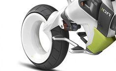 Concept Motorcycle Hero iON Photos