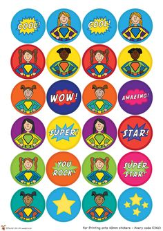 Teacher's Pet - Superhero Sticker Charts (Girls) - FREE Classroom Display Resource - EYFS, KS1, KS2, super, hero, superheroes, heroes, behaviour, stickers, charts, reward, target