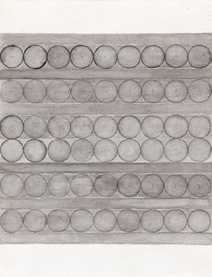 "Eva Hesse (1936-1970) ""Untitled"", 1965-66. Lavierte Tusche auf Papier / Ink wash on paper Private Collection. Courtesy Hauser & Wirth © The Estate of Eva Hesse"