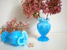 Your place to buy and sell all things handmade Scarf Display, Vanity Tops, Fenton Glass, Glass Candle Holders, Window Sill, Bud Vases, I Am Happy, Candlesticks, Dresser