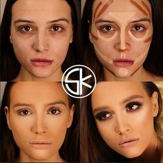 Девушки домакияжа ипосле before and after make up