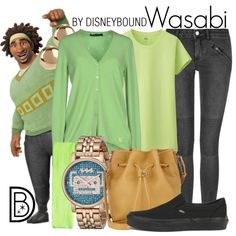 Wasabi by leslieakay on Polyvore featuring Twin-Set, Uniqlo, BLK DNM, Vans, 3.1 Phillip Lim, FOSSIL, Jules Smith and Victoria's Secret