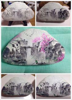 Landscape on stones