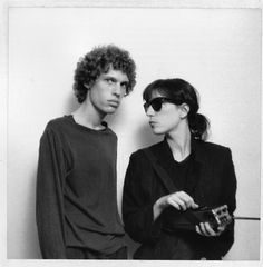 Patti Smith and Robert Mapplethorpe (sp?)