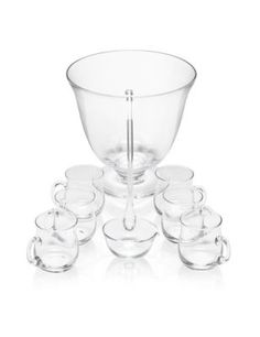 Glass Punch Bowl Set | M&S