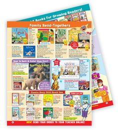 Turn those extra Scholastic catalogs into a Reading activity!  I'd use it with author's purpose...