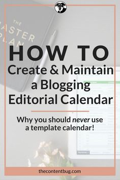 Are you a blogging beginner? It doesn't matter if your answer is yes or no, every blogger needs a blogging editorial calendar! Learn how to create and maintain a blogging editorial calendar that is guaranteed to work for your one-of-a-kind blog!